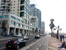 Tel Aviv, Jerusalem Beach. A daily hike across the Jerusalem coast Stock Image