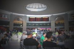 TEL AVIV - 15 JUILLET :  Ben Gurion International Airport le 15 juillet 2013 à Tel Aviv, Israël, un de la meilleure sécurité et du Photographie stock libre de droits