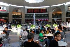 TEL AVIV - 15 JUILLET :  Ben Gurion International Airport le 15 juillet 2013 à Tel Aviv, Israël, un de la meilleure sécurité et du Image stock