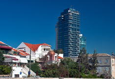 Tel Aviv, la ciudad blanca. fotografía de archivo