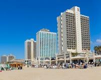 Tel Aviv la Riviera Image libre de droits