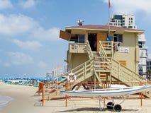 Tel Aviv Life-saving station 2011 Royalty Free Stock Images