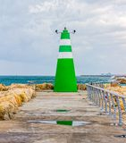Tel Aviv lighthouse Royalty Free Stock Photos