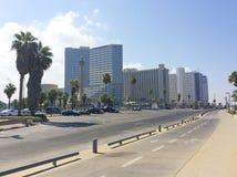 Tel Aviv moderno, Israel Imagens de Stock Royalty Free