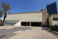 Tel Aviv Museum of Art Entrance, Israel Royalty Free Stock Image