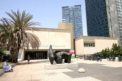 Tel Aviv Museum of Art Stock Photo