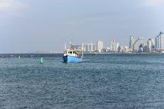 Tel Aviv nella stagione invernale Fotografia Stock
