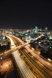 Tel Aviv at Night Stock Photography