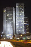 Tel Aviv night city Royalty Free Stock Photos