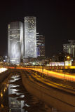 Tel Aviv night city Royalty Free Stock Photo