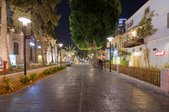 Tel Aviv Night Life Royalty Free Stock Images