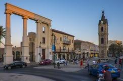 Tel Aviv - 20.06.2017: Old Jaffa city and transportation view Stock Photography