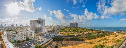 Tel Aviv panorama Royalty Free Stock Photography