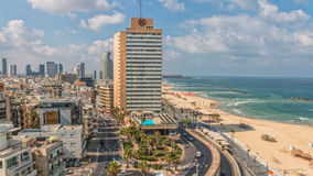 Tel Aviv panorama Royalty Free Stock Photography