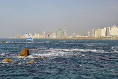 Tel-aviv panorama Royalty Free Stock Images