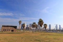 Tel Aviv. Panorama van Jaffa stock afbeeldingen