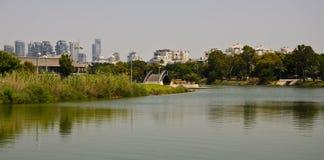Tel Aviv parkerar Royaltyfri Fotografi