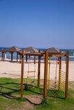 Tel Aviv plaża Obrazy Royalty Free