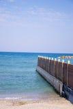 Tel Aviv plaża Fotografia Royalty Free