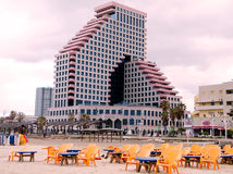 Tel Aviv plage near Beyt HaOpera 2010 Royalty Free Stock Image