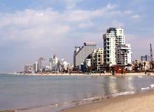 Tel Aviv plage 2007 Royalty Free Stock Photos