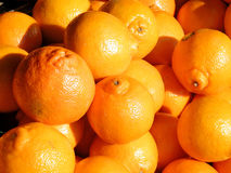 Tel Aviv pomarańcze na bazarze 2011 fotografia stock