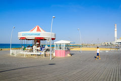 Tel Aviv Port Carrousel Royalty Free Stock Photos