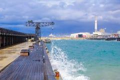 Tel Aviv Port Stock Photos