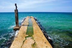 Tel Aviv port park. Stock Image