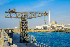 Tel-Aviv Port Scene Royalty Free Stock Photography