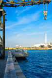 Tel-Aviv Port Scene Stock Photo