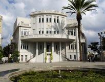 Tel Aviv Preserved city hall stock photos