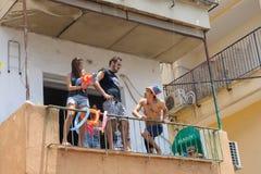 Tel Aviv Pride Parade 2014 Royalty Free Stock Photos