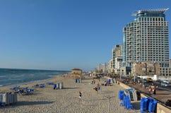 Tel Aviv promenad i telefon Aviv Israel Royaltyfri Bild