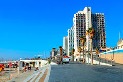 Tel Aviv Promenade, Israel Royalty Free Stock Photo