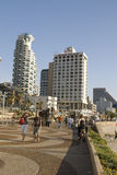 Tel-Aviv,promenade in summer day Stock Images