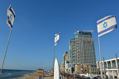 Tel Aviv promenade in Tel Aviv Israel Royalty Free Stock Photos