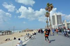 Tel Aviv promenade in Tel Aviv Israel royalty free stock photos
