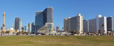 Tel Aviv promenade in Tel Aviv Israel Stock Image