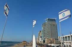 Tel Aviv-Promenade in Telefon Aviv Israel lizenzfreie stockfotos