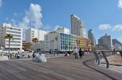 Tel Aviv-Promenade in Telefon Aviv Israel Lizenzfreies Stockbild