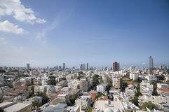 Tel-aviv ramat-gan city scene Stock Images