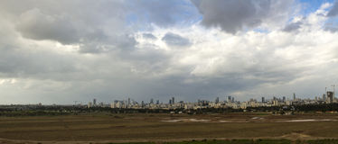 Tel Aviv and  Ramat Gan. Stock Images