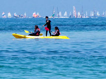 Tel Aviv regatta 2012 Stock Photography