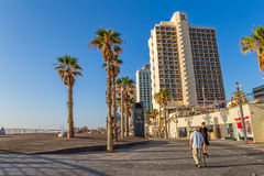 Tel Aviv riviera and hotels Royalty Free Stock Photography