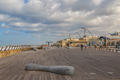 Tel Aviv riviera Stock Photography