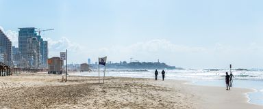 Tel Aviv riviera Royalty Free Stock Photos