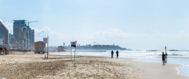 Tel Aviv riviera Stock Photo