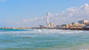 Tel Aviv riviera Stock Image