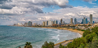 Tel Aviv, riviera panorama Stock Photo